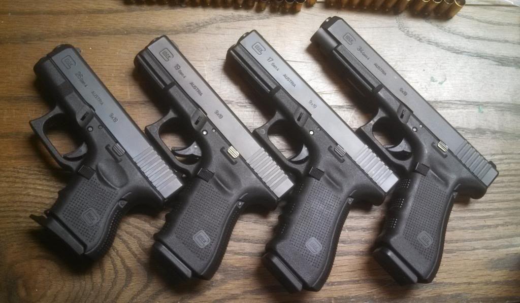 Glock 9mm Sight Radius, AR15.com