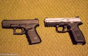 Glock 19 vs FNS-9