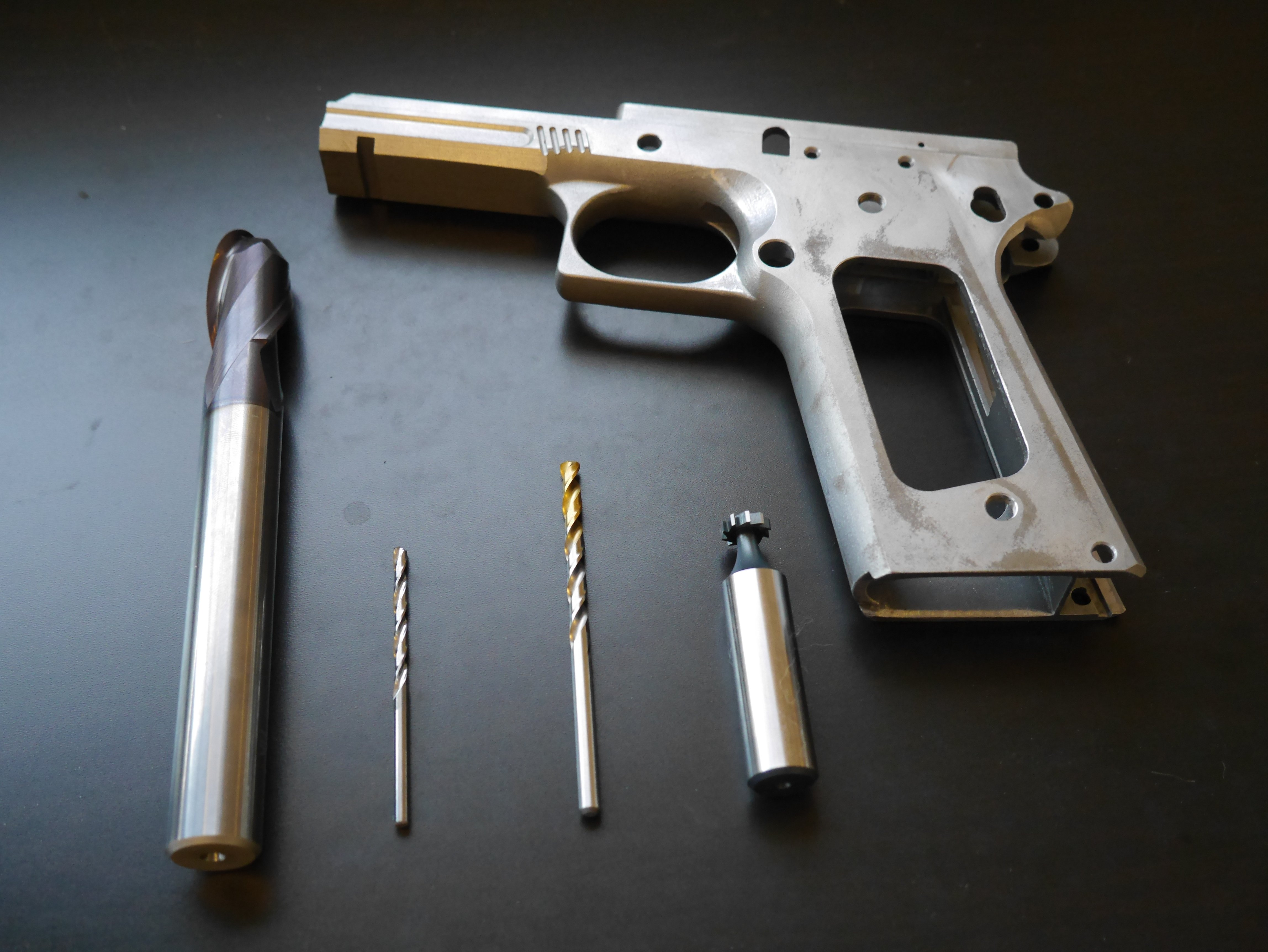 1911 80 Tactical Machining Build Part 2 Tools Pew Pew