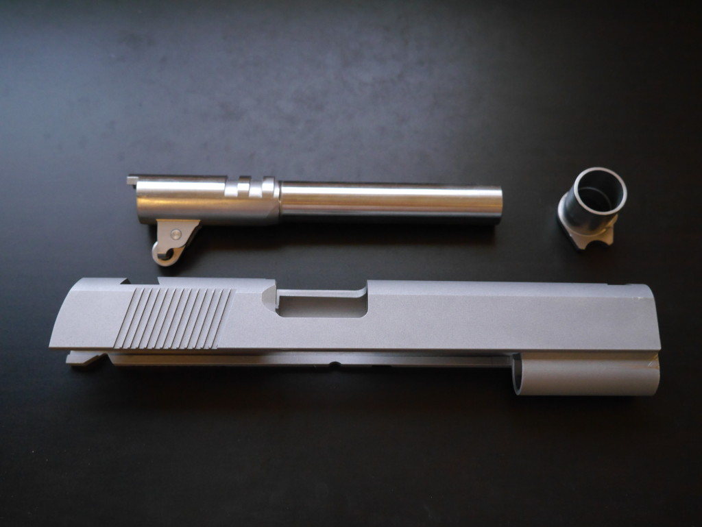 Fusion .45 ACP Slide with Barrel & Bushing