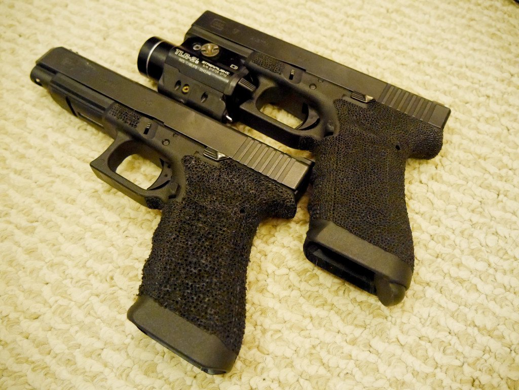 Stippled G17 and G34