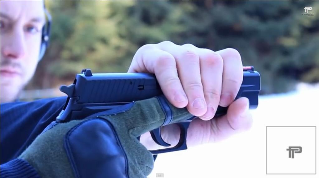Holding a Gun Slide from Polenar Tactical