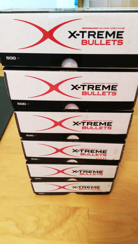 Bunch of Xtreme Bullets