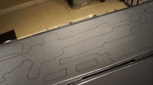 how to cut foam for case
