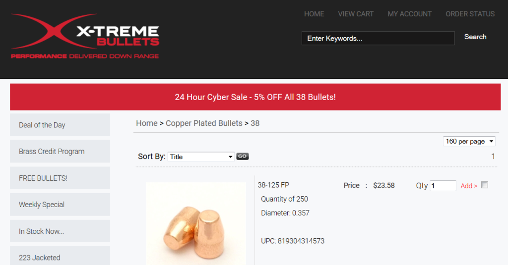 Xtreme Bullets Deal of the Day