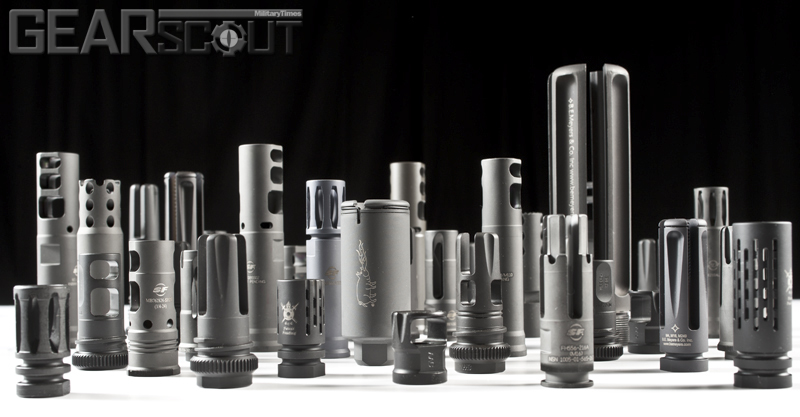 Flash Suppressors, Muzzle Brakes, Compensators, GearScout