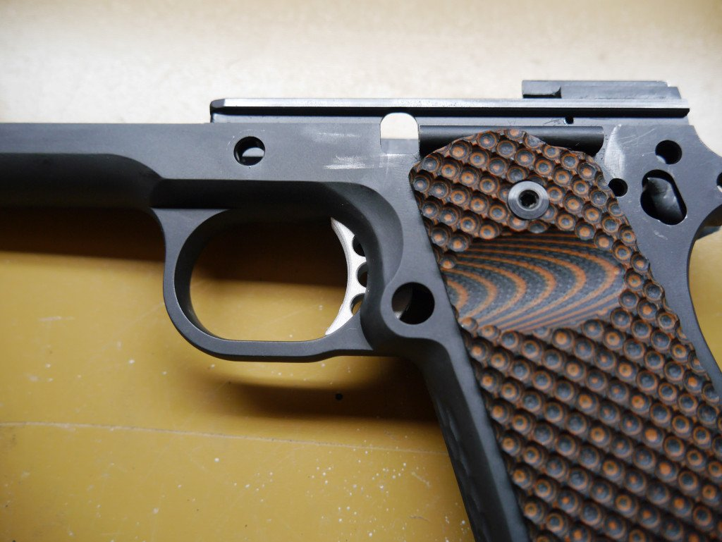1911 Trigger Fitting Side