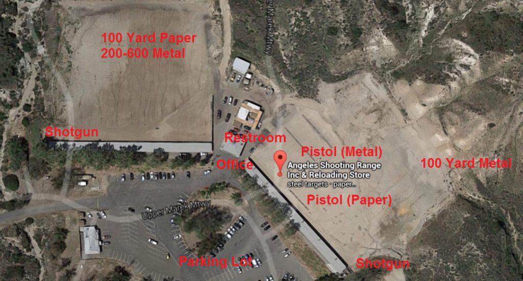 Angeles Shooting Range Map