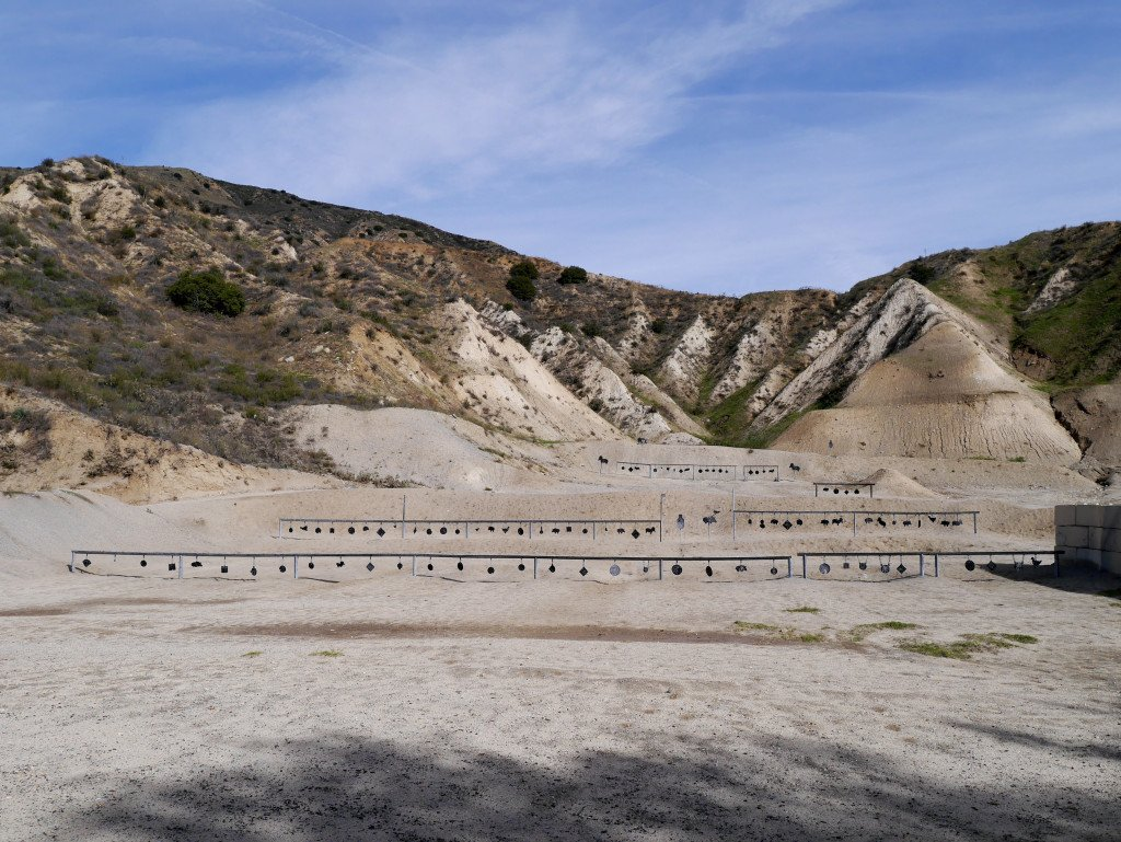 Angeles Shooting Range, Pistol Side