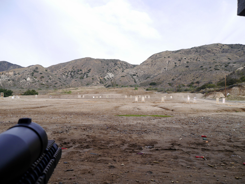 Angeles Shooting Range Rifle Side
