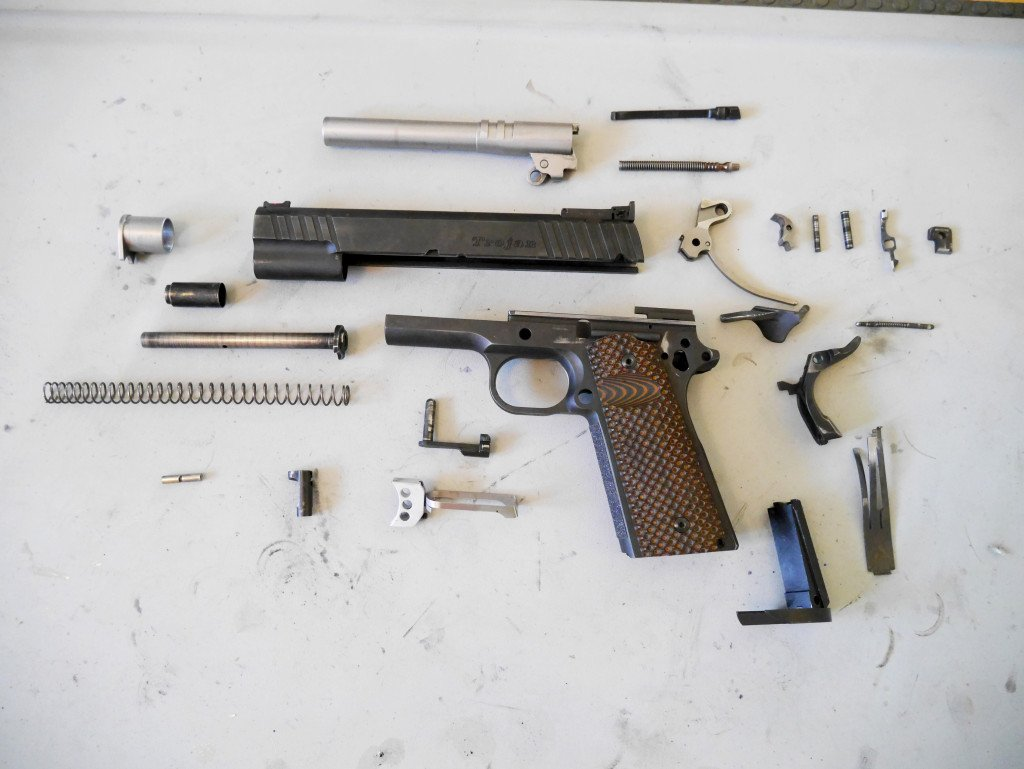 Complete 1911 Disassembly