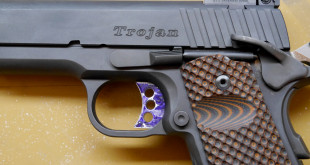 Completed 1911 Trigger Fitting