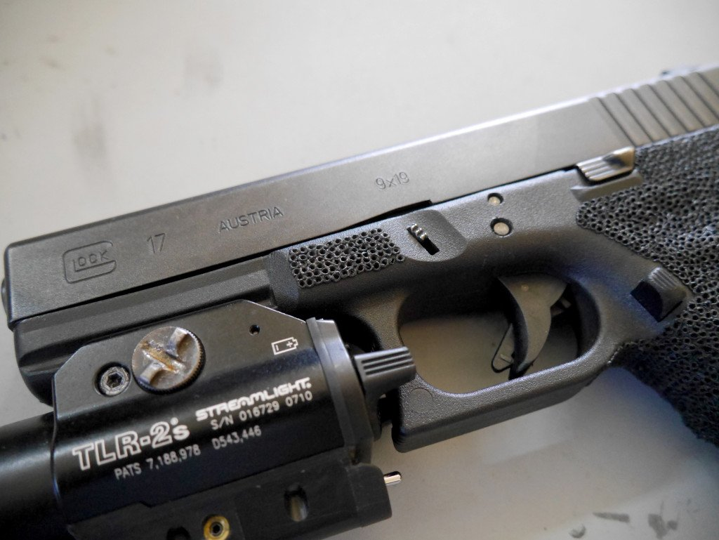 Glock 17 Front Stipple