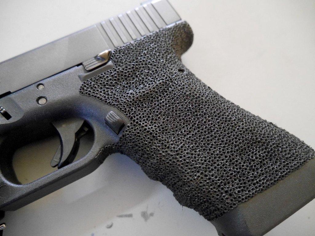 how to stipple a glock pew pew tactical. Black Bedroom Furniture Sets. Home Design Ideas