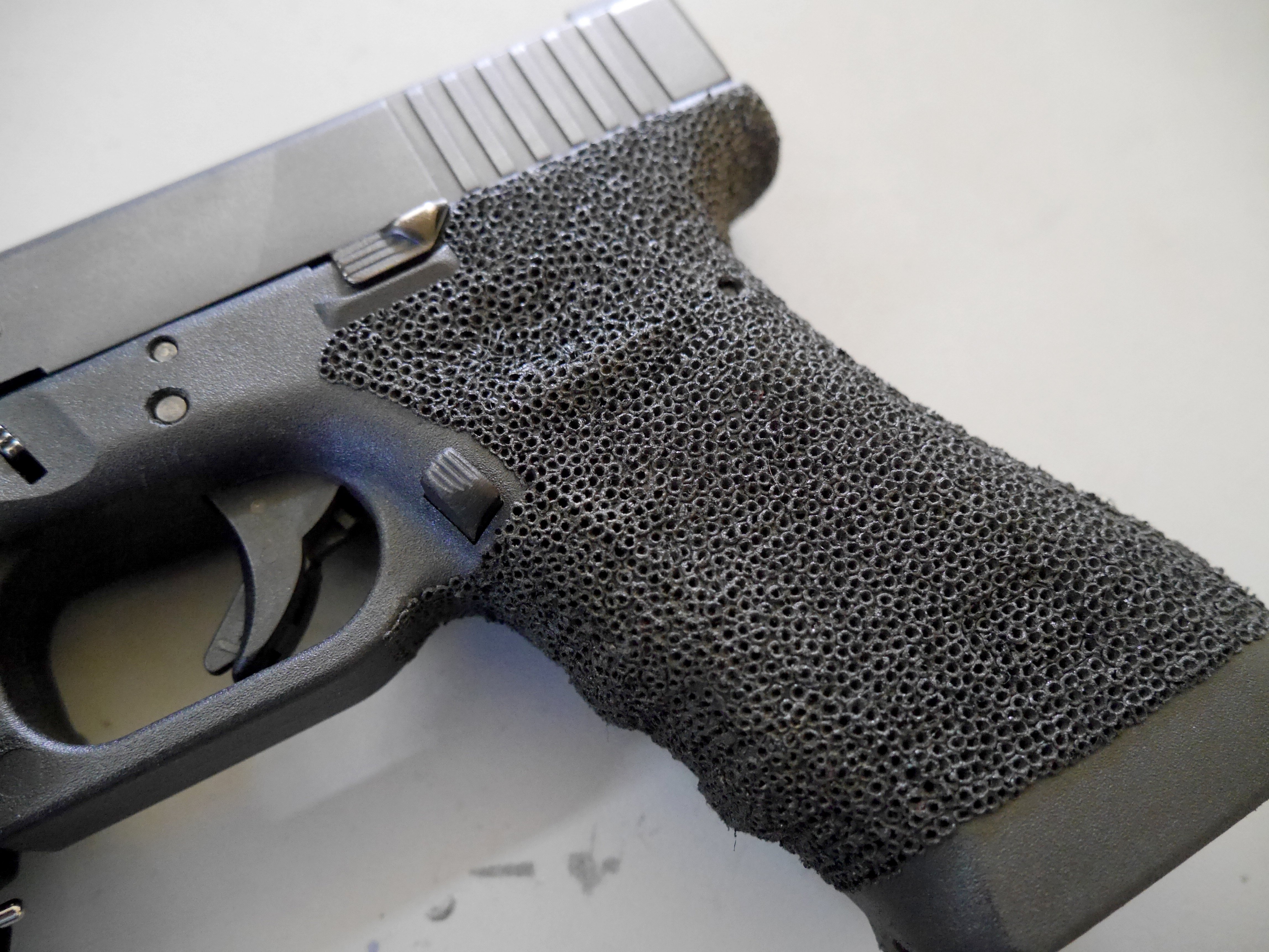 How To Stipple A Glock Pew Pew Tactical