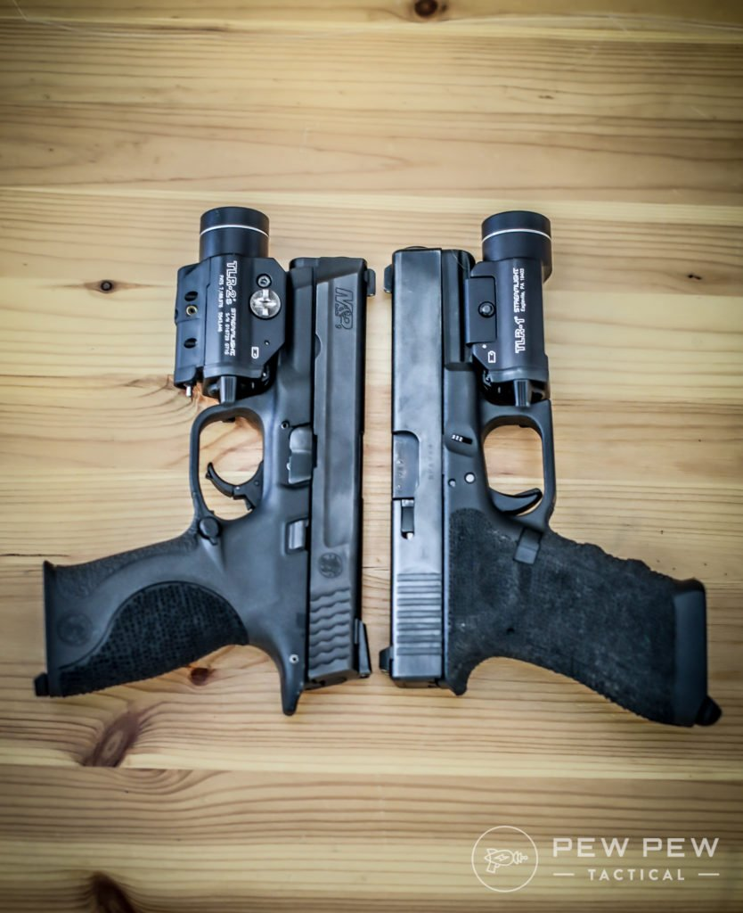 M&P vs Glock 17