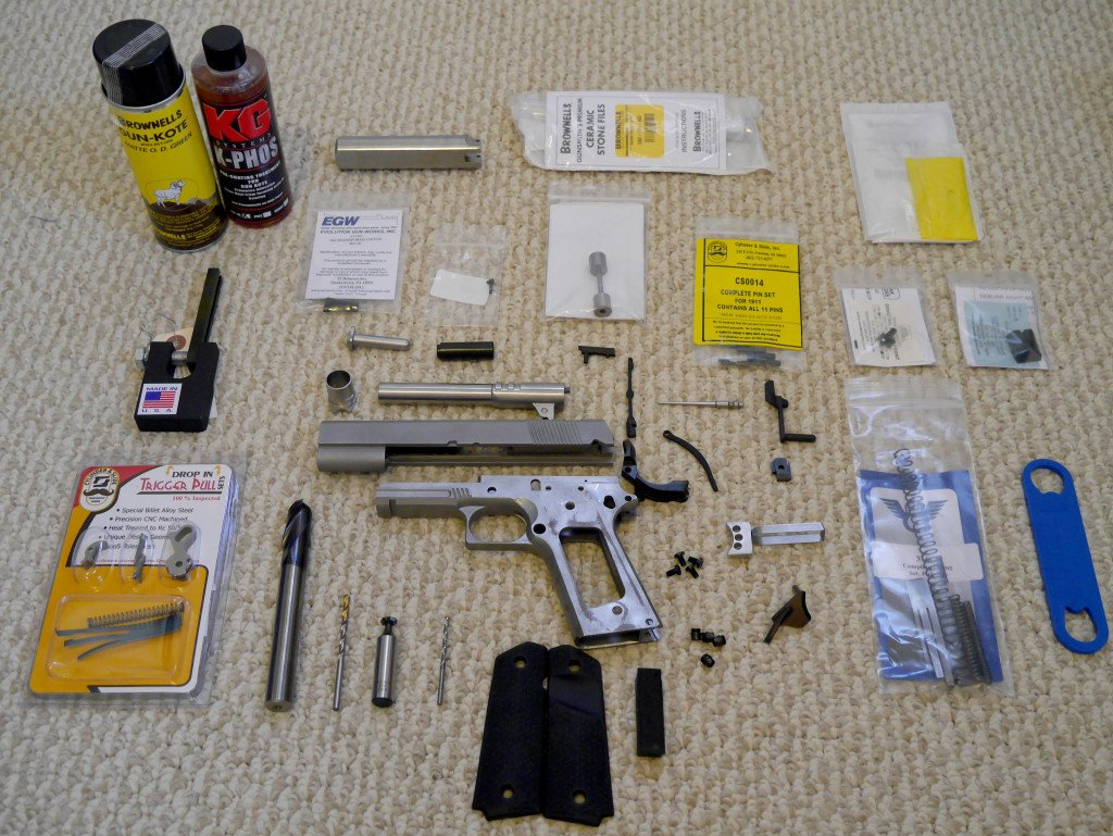 Tactical Machining 1911 80% and Parts Kit