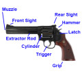Smith & Wesson 586 Parts Diagram