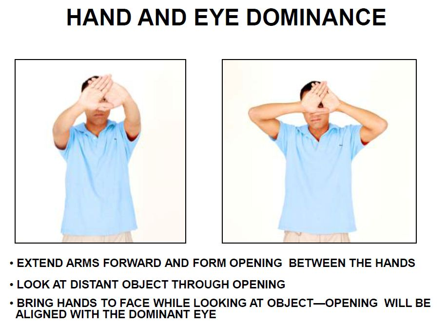 Eye Dominance Test, brianenos.com