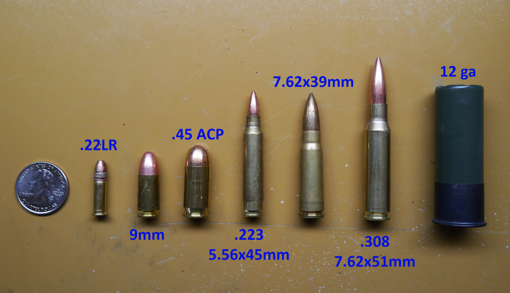 Common Bullet Calibers