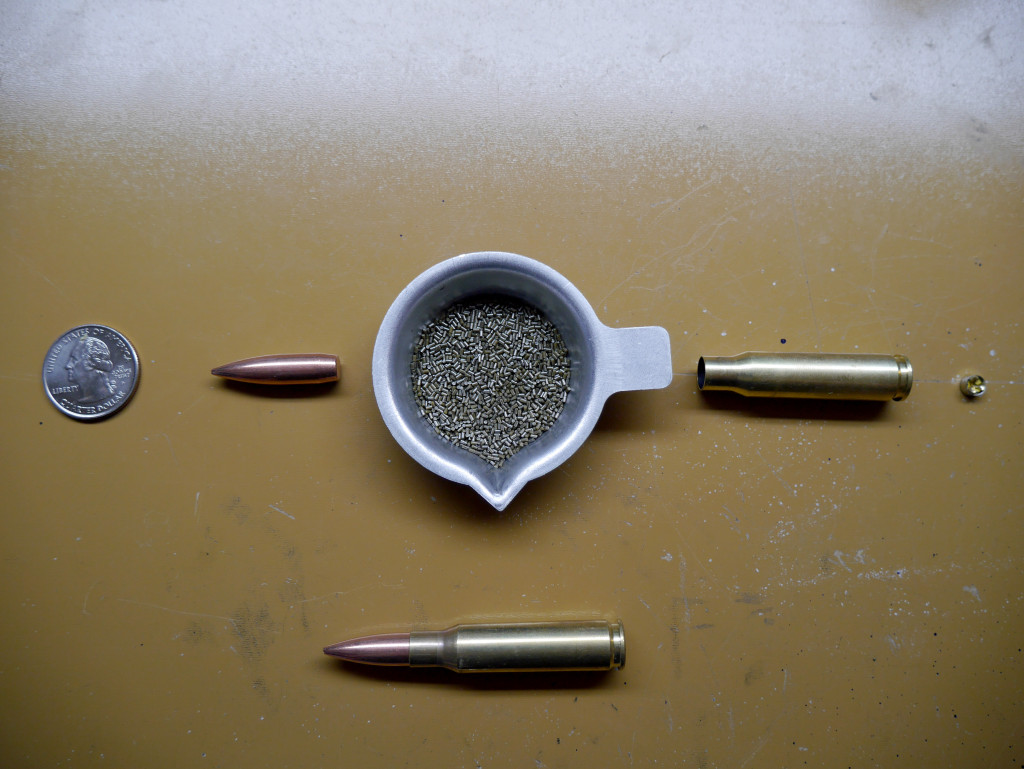 Components of 175 gr 308 HPBT