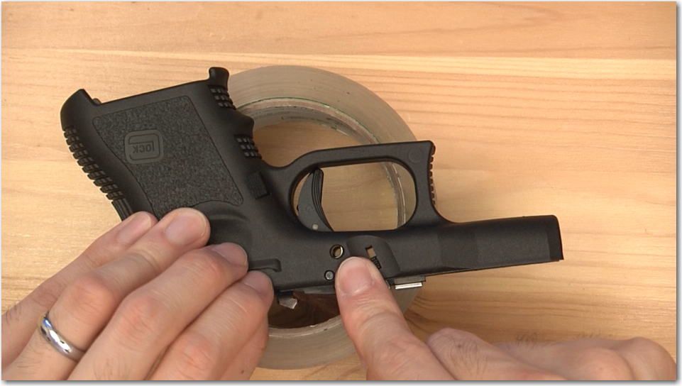 Glock Big Pin Reassembly Trick