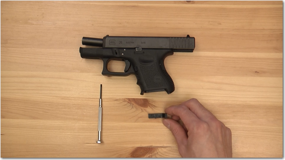 Glock Extended Magazine Release Install Tools