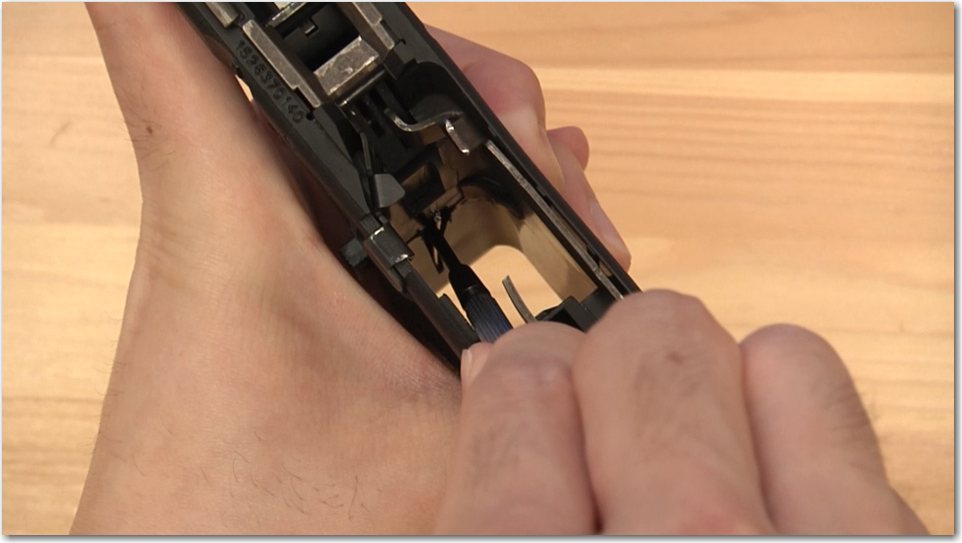 Glock Extended Magazine Release Pin Install