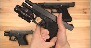 Glock Extended Slide Stop Lever G17