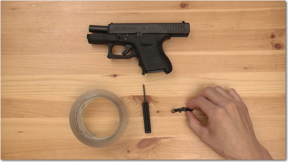 Glock Extended Slide Stop Lever Tools
