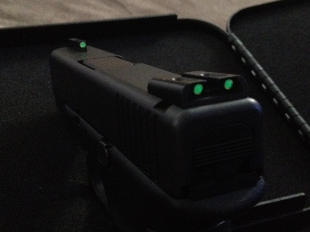 Glock Night Sights, USACarry