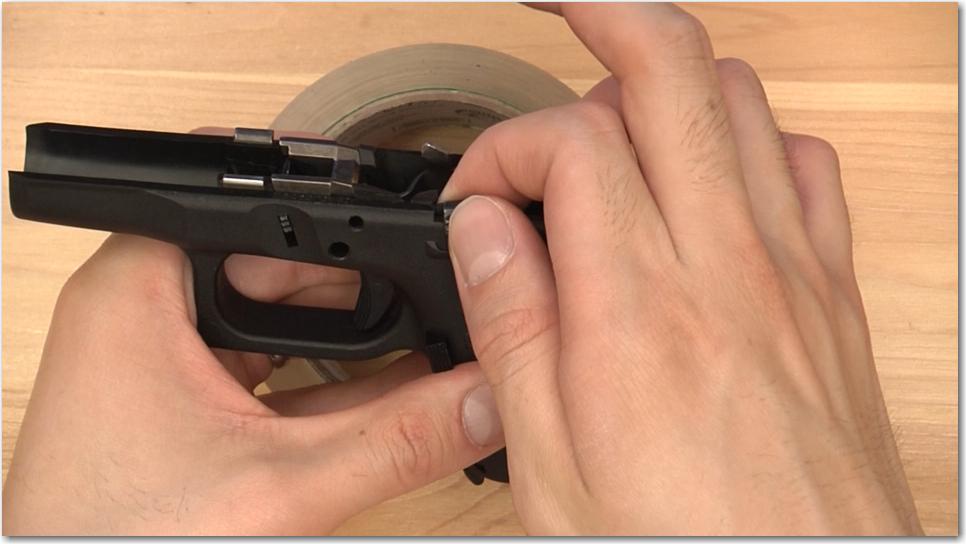 Glock Remove Slide Stop Lever