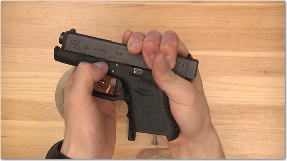 Glock Takedown Lever