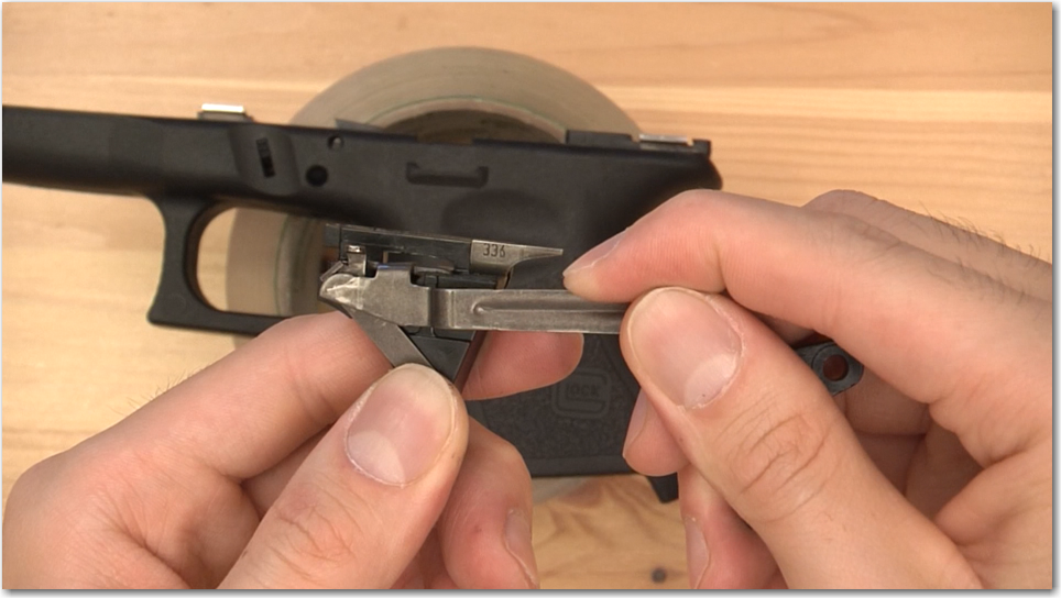 Glock Trigger Bar Disassembly