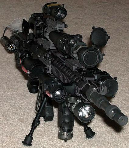 Mall Ninja AR-15