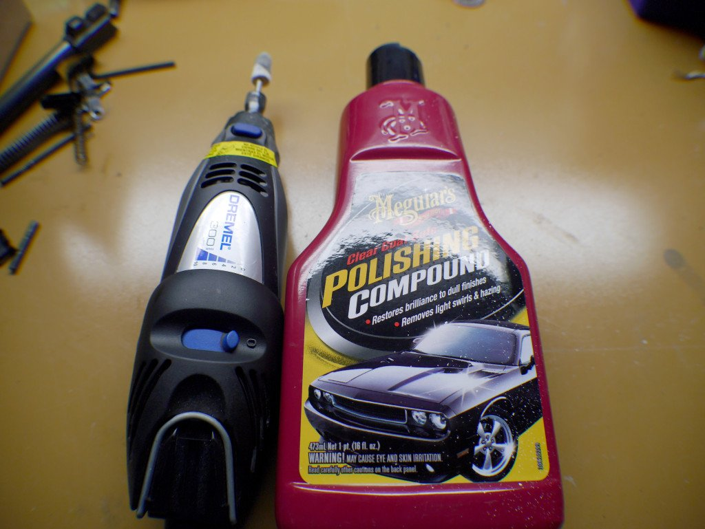 Polish and Dremel