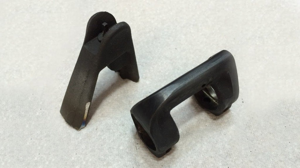 Shaved AR-15 Front Sight Base