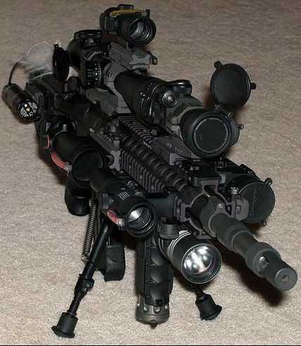Super Tacticool AR-15