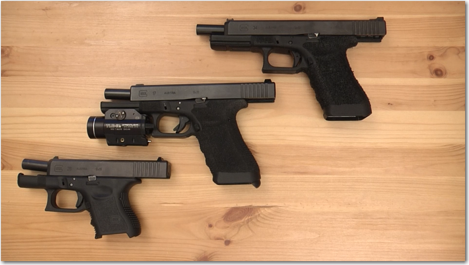Three Glocks