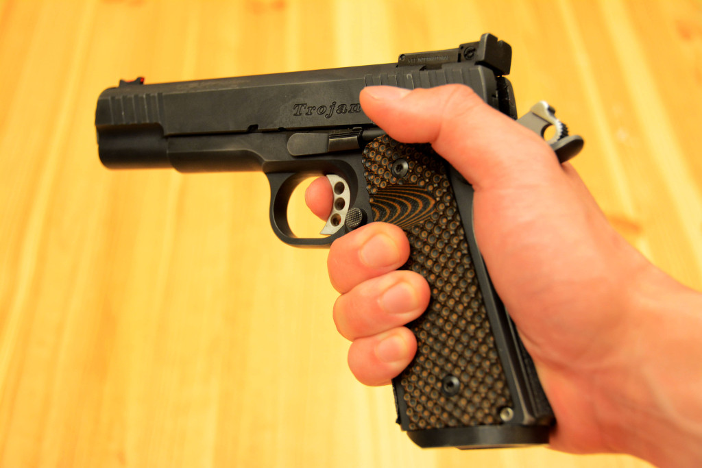 1911 Trigger Finger Placement