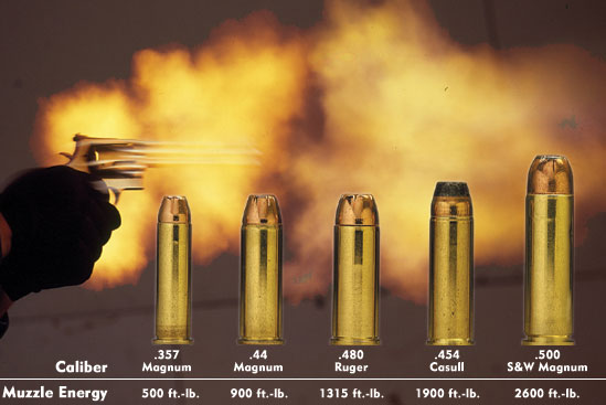 .357 Magnum vs Even Bigger Calibers