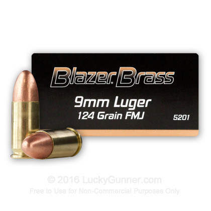Blazer Brass 9mm