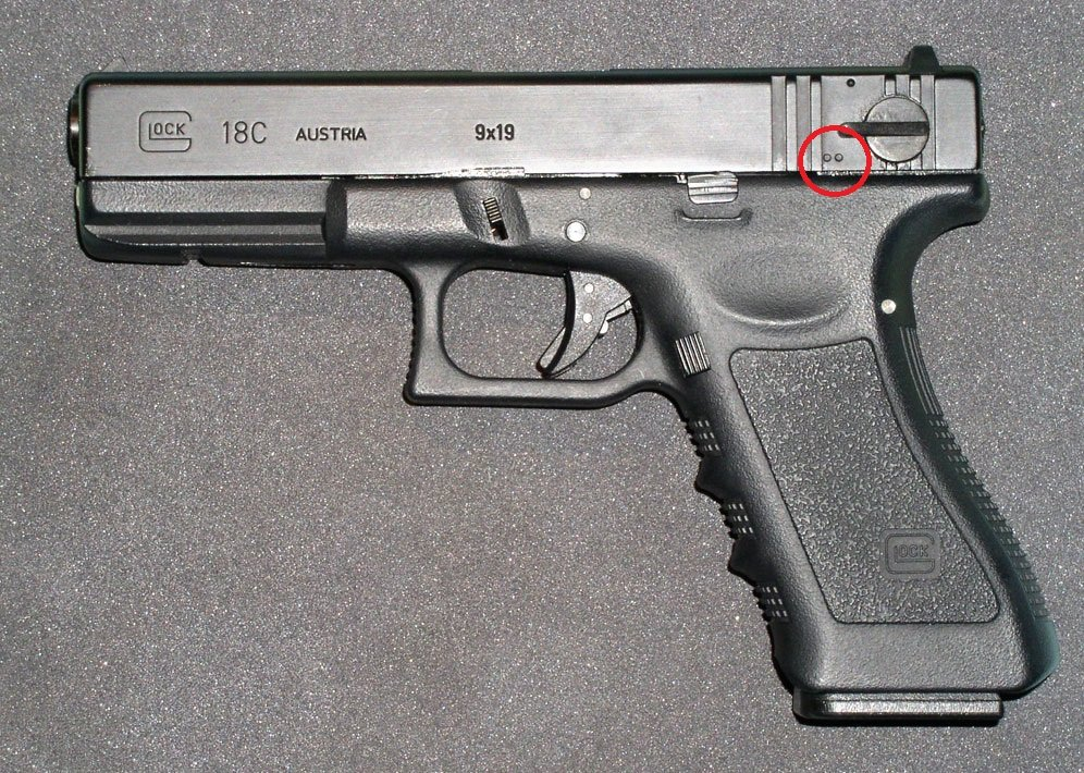 Glock 18C with Fun Switch
