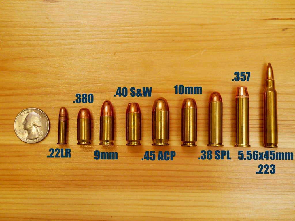 Handgun Caliber Smallest to Largest