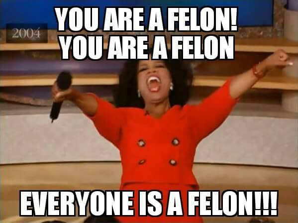Oprah, You're a Felon