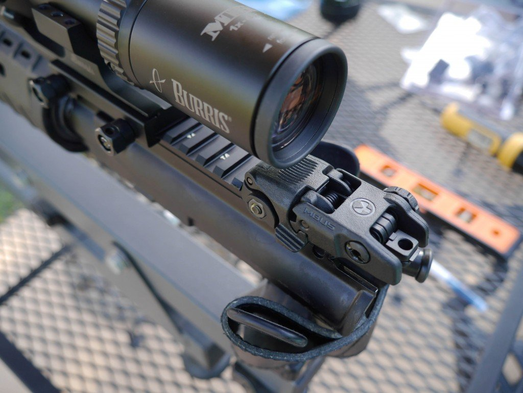 MTAC in PEPR Mount and BUIS, Too Rearward