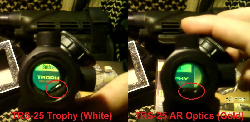 TRS-25 Trophy vs AR Optics