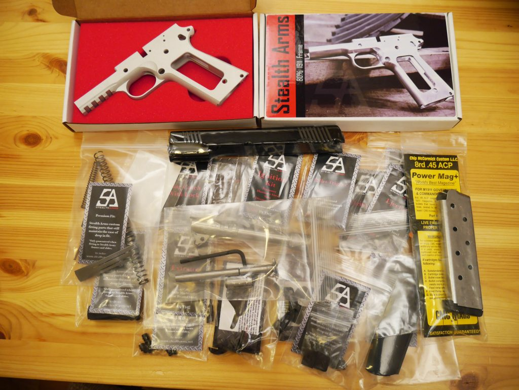 Best 1911 80%: Stealth Arms, 1911 Builders, Tactical Machining - Pew ...