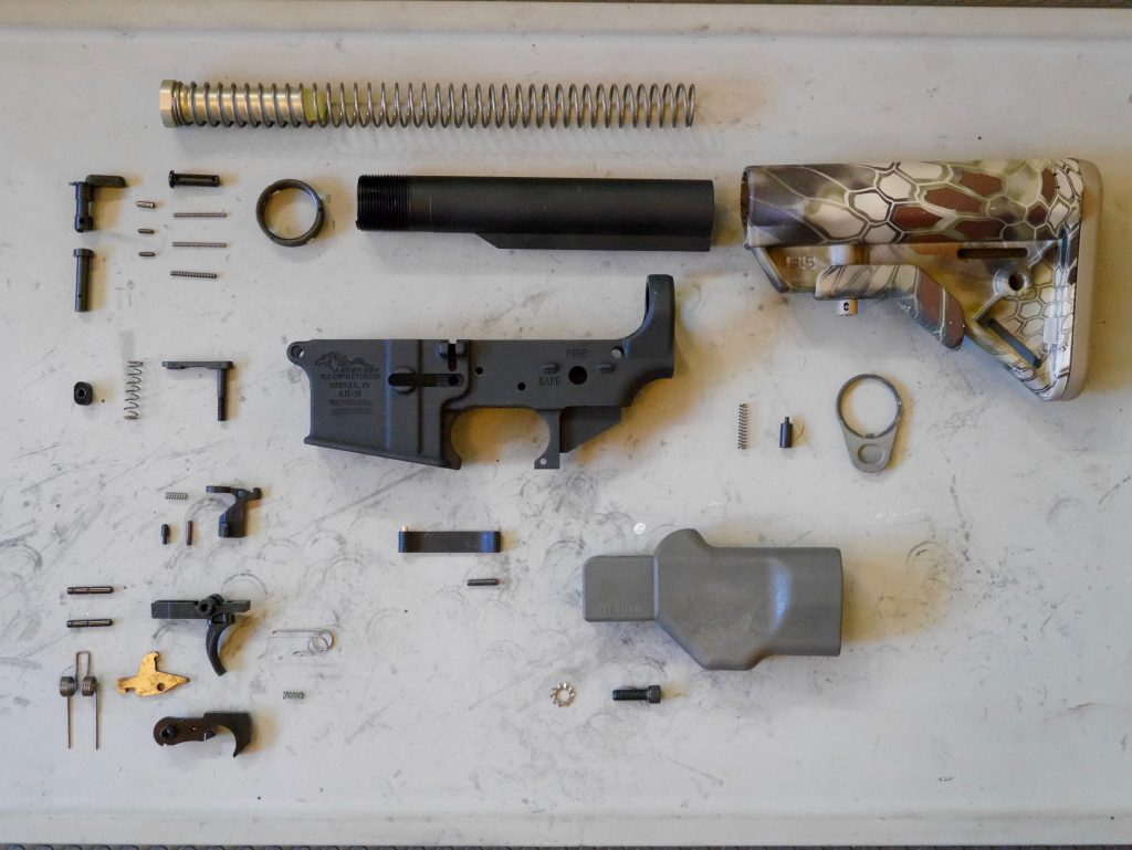 All AR-15 Lower Receiver Parts