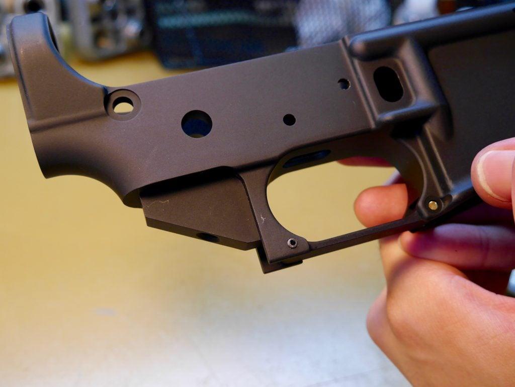 Installed Trigger Guard